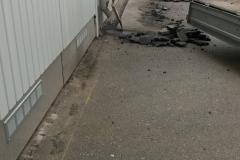 Autotallien ramppien teko Helsingissä