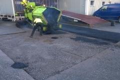 Pihan kaivon ympäristön asfaltointi Porissa